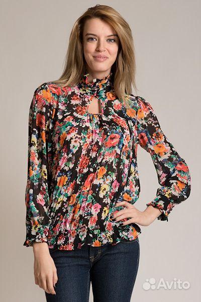 Бархатная блузка с доставкой
