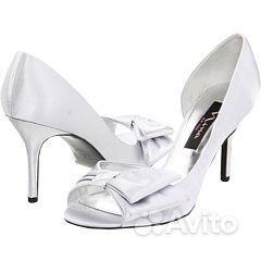 Новые свадебные туфли nina new york размер