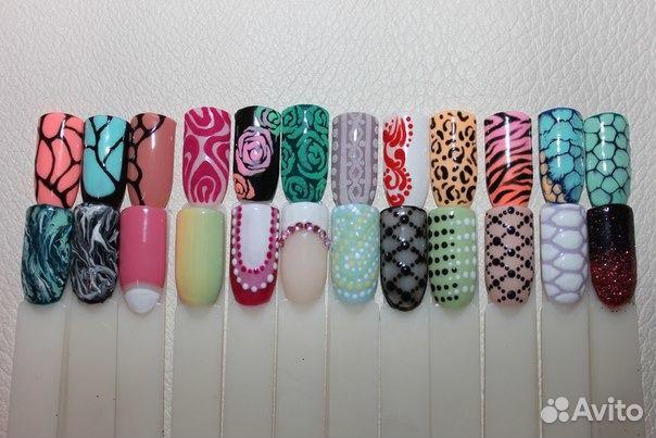 Экспресс дизайны ногтей