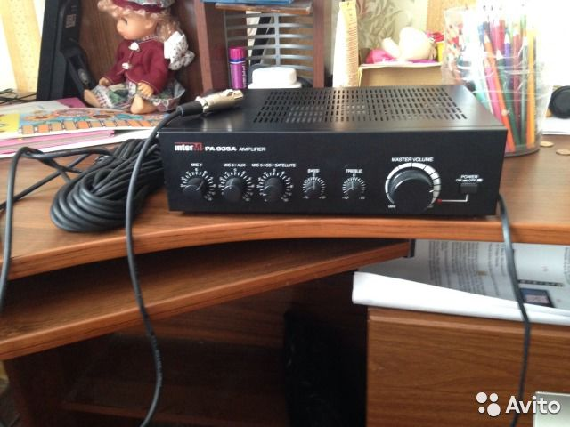 Interm PA-935A amplifier