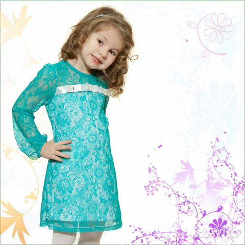 Как сшить гипюровое платье для девочки