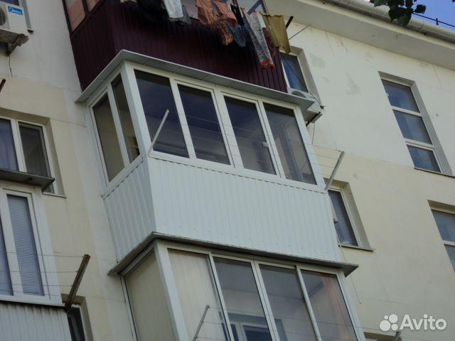 Обшивка балконов / остекление балконов / услуги новороссийск.