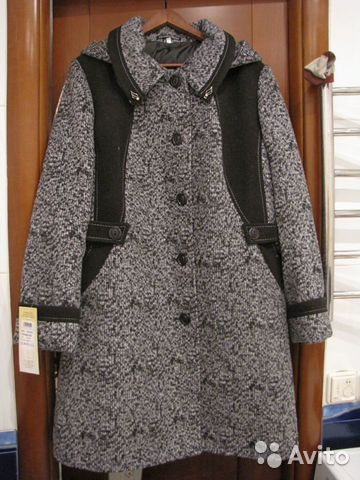 Новое женское пальто. 62р-ра