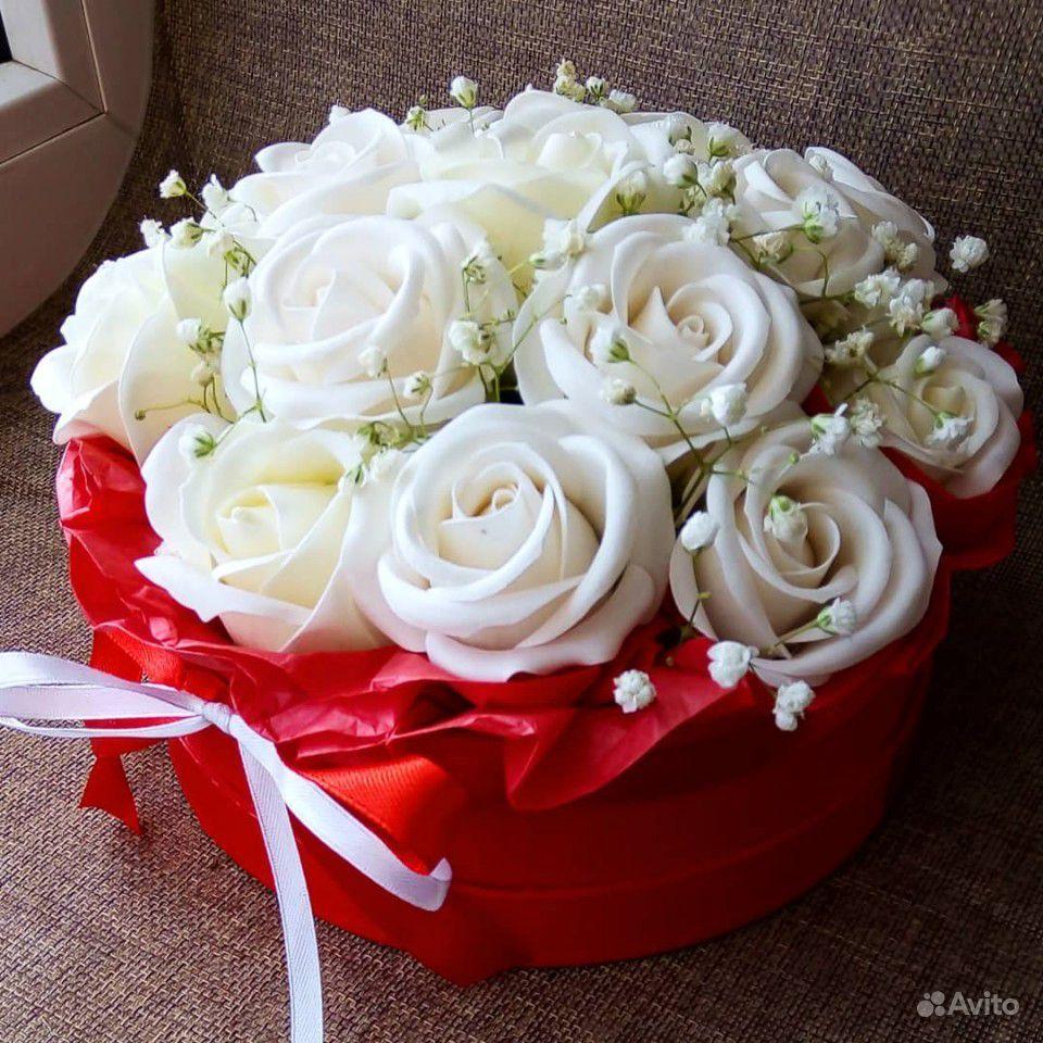 Цветы из мыла купить на Зозу.ру - фотография № 3