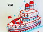 Кораблик из киндеров #27, #28