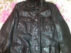 купить теплую куртку мужскую кожаную на авито в краснодаре