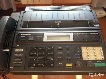 Телефон-факс-автоответчик panasonic KX-F230 объявление продам