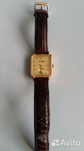 54224ae040c7 Часы золотые Мактайм купить в Республике Адыгея на Avito ...