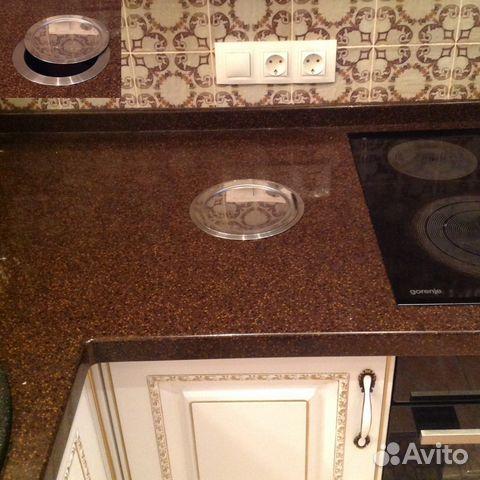 Столешница отверстие для мусора столешница для зеленого кухонного гарнитура