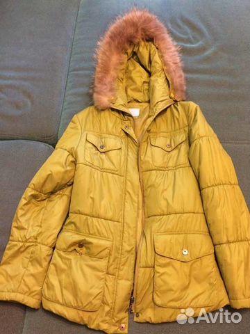 f747f53e54fb Куртка женская весна-осень с меховым воротником купить в Москве на ...