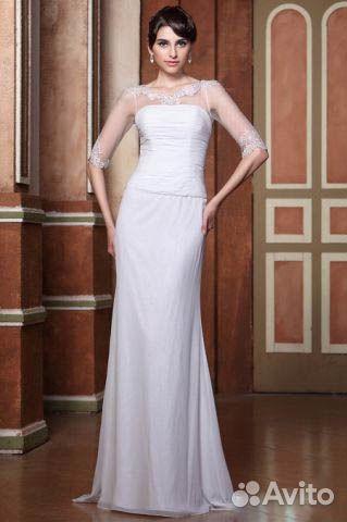 Вечерние платья белого цвета москва