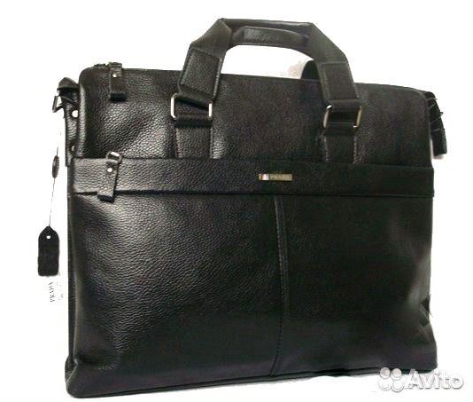 Мужская кожаная сумка Prada A4 Мужские сумки - Личные вещи, Одежда, обувь,  аксессуары - Москва - Объявления на сайте Авито 3d3d262acb7