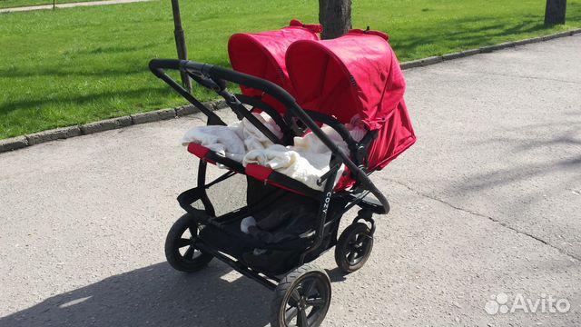 Avito коляски для двойни