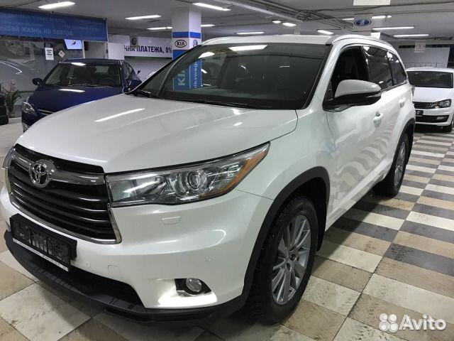 Купить бу Toyota Highlander с пробегом. Продажа Toyota ...