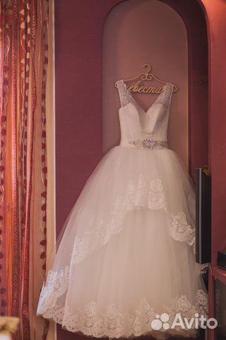 7d323964f4c8fba Свадебное платье купить в Челябинской области на Avito — Объявления ...
