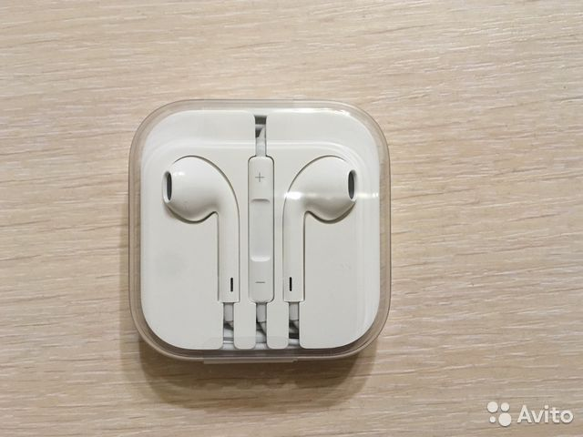 Наушники Apple EarPods купить в Кемеровской области на Avito ... a0a92b1407179