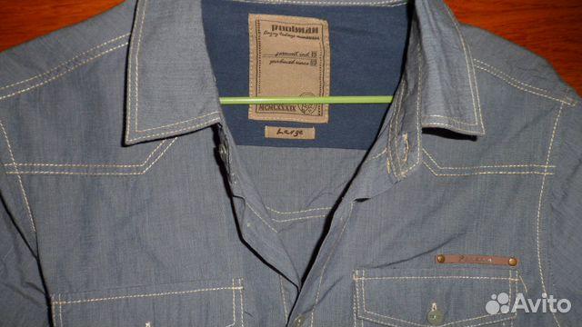 831c3e7ee46 Рубашка мужская Poolman новая - Личные вещи