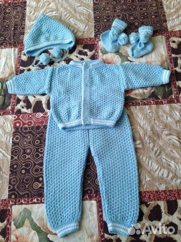 вязаный детский костюм Festimaru мониторинг объявлений