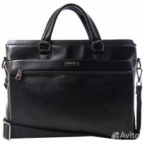 Мужская кожаная сумка Prada Мужские сумки - Личные вещи, Одежда, обувь,  аксессуары - Москва - Объявления на сайте Авито d61c32a55b6