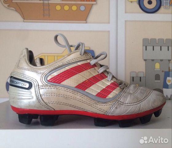 Бутсы футбольные 32 размер adidas купить в Санкт-Петербурге на Avito — Объявления  на сайте Авито f0d16c8ea3e