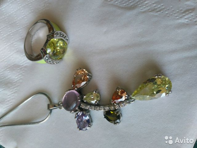 Продам кольцо и подвеску— фотография №1. Адрес  Ставропольский край ... 7fa3eabec29