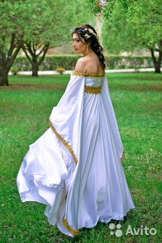 13f3e25f43b Свадебное платье в греческом стиле купить в Омской области на Avito ...