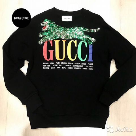 Свитшот Gucci купить в Москве на Avito — Объявления на сайте Авито da3c2bf6373