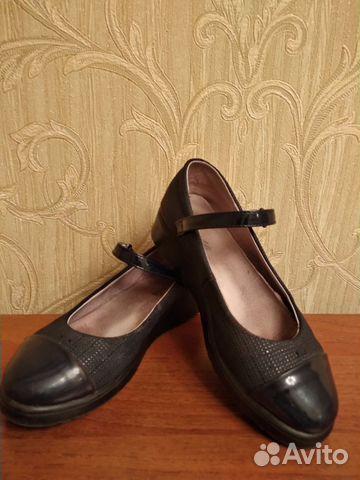 Туфли школьные, р.37 (по стельке 23,5 см) 89021357716 купить 2