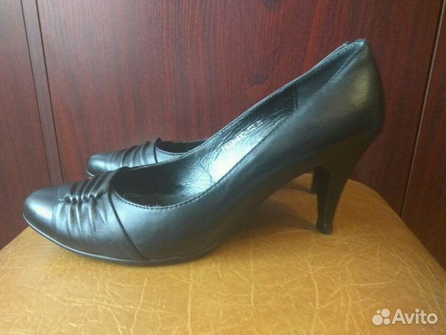 Туфли черные нат. кожа 35/36р  89650071720 купить 3