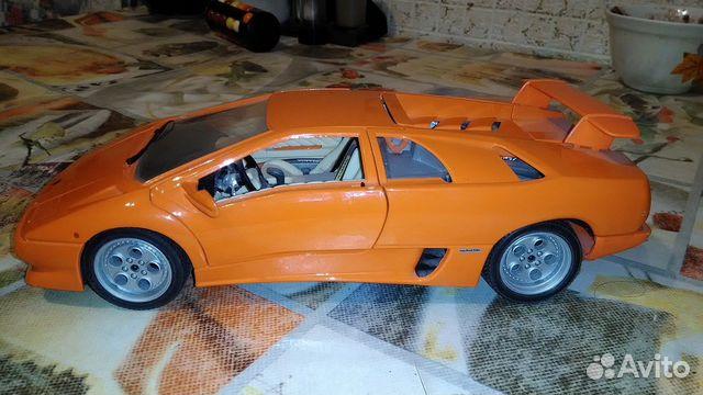 Model Lamborghini Diablo 1990 1 18 Bburago Hobbi I Otdyh Kollekcionirovanie Bashkortostan