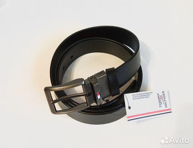 Кожаный Ремень Tommy hilfiger Lux двусторонний купить в Москве на ... 99a3cd876aea1