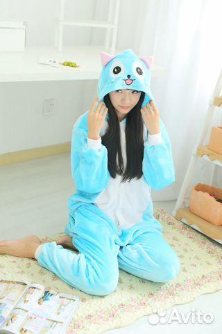 Новая. Кигуруми пижама Счастливый кот (и другие)  83968f57ee7b7