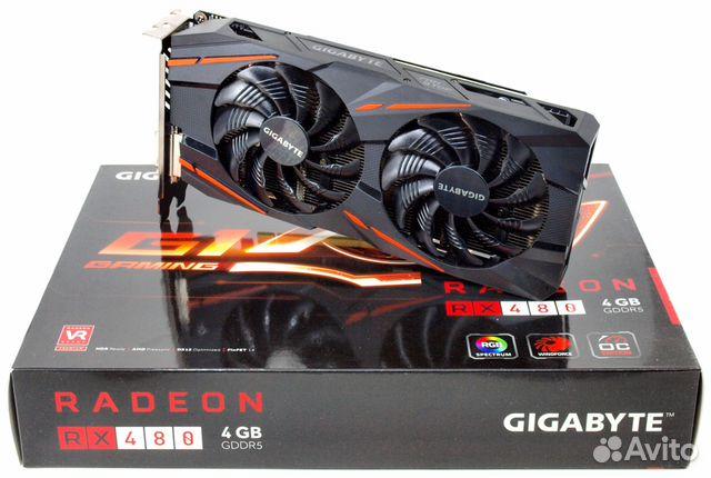 Видео карта AMD RX 480 4gb