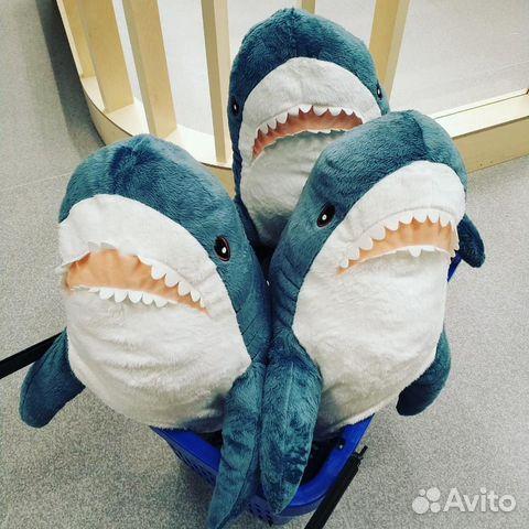 Акула из Икеи Blohaj (Блохэй из IKEA) купить в Москве на ...