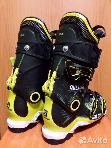 Горнолыжные ботинки Salomon Quest 110 р-р 25,5 купить в ... ca0e17ffec3