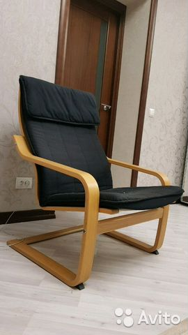 кресло качалка икея поэнг купить в ульяновской области на Avito