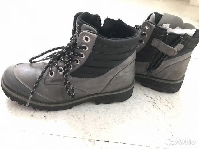 17b6d780a Демисезонные кожаные ботинки Geox купить в Московской области на ...