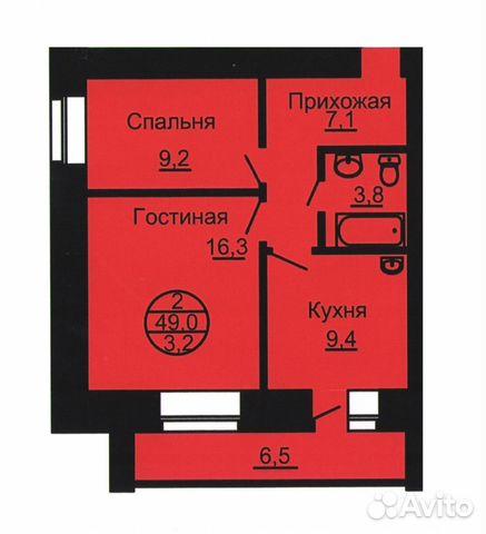 Продается двухкомнатная квартира за 3 087 000 рублей. Благовещенск, Амурская область, улица Горького, 314.