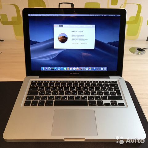 MacBook Pro 2012 SSD Mohave 10/10 как с завода