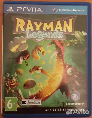 Продам игру Rayman Legends для PS Vita 89528061657 купить 2
