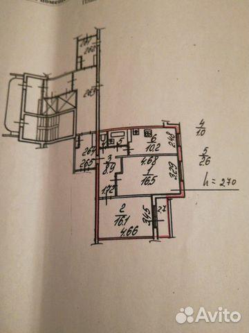 Продается двухкомнатная квартира за 4 400 000 рублей. Колпино, Санкт-Петербург, Тверская улица, 60.