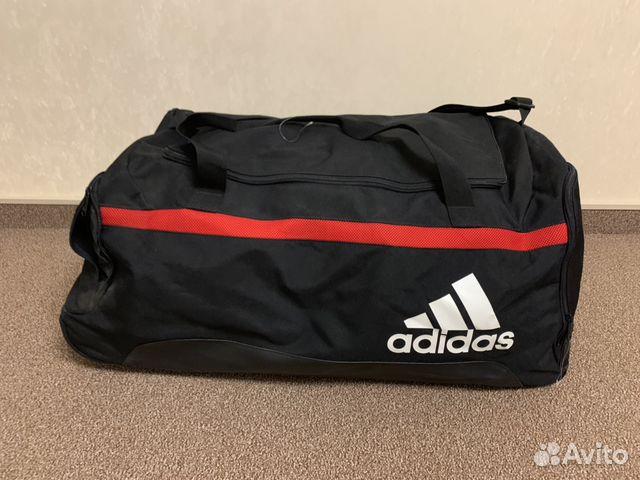 b98ff9632cd4 Спортивная сумка Adidas новая на колесах купить в Москве на Avito ...