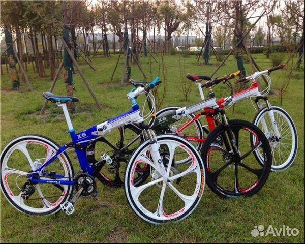 89527559801 Велосипеды складные,на литых дисках