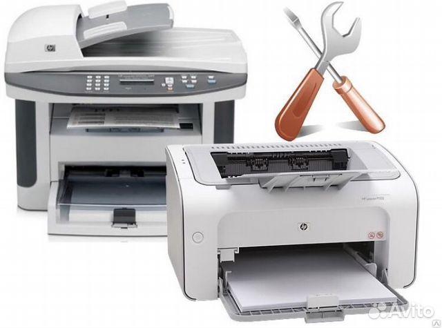 Ремонт принтеров, мфу