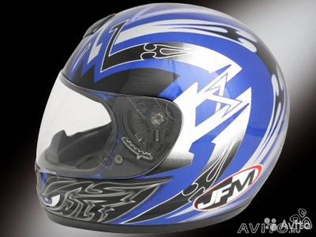 Мотоциклетный шлем JFM Helmets 2000 Fear Graphic