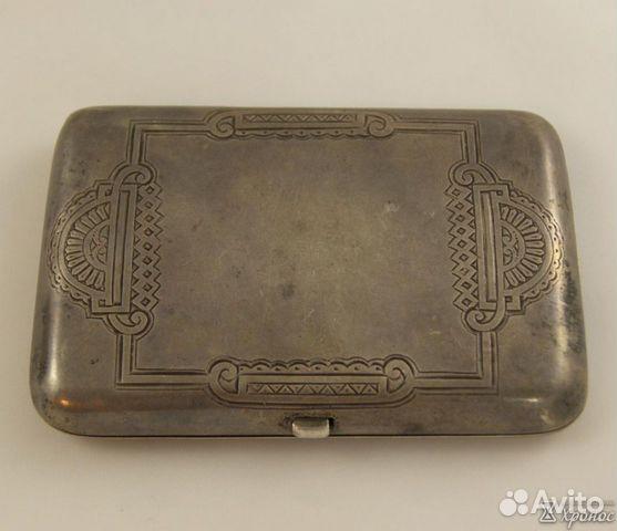 ПОРТСИГАРЫ серебряные - Изделия из серебра Кубачи
