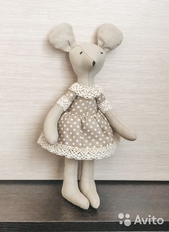 Кукла тильда мышка  89064096764 купить 1