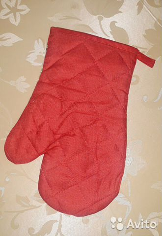 Новый набор: фартук, рукавица, прихватка 89220702173 купить 4
