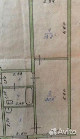 2-к квартира, 48.4 м², 5/5 эт.