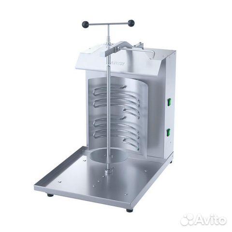Shawarma machine with manual drive